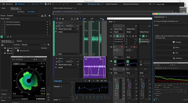 adobe Audition Featured cracked system requirements