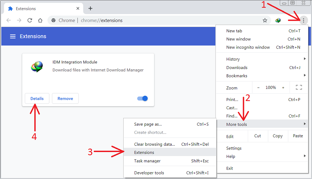Internet-Download-Manager serial key extension for chrome
