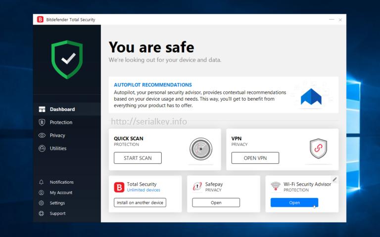 bitdefender total security 2020 activation code lifetime